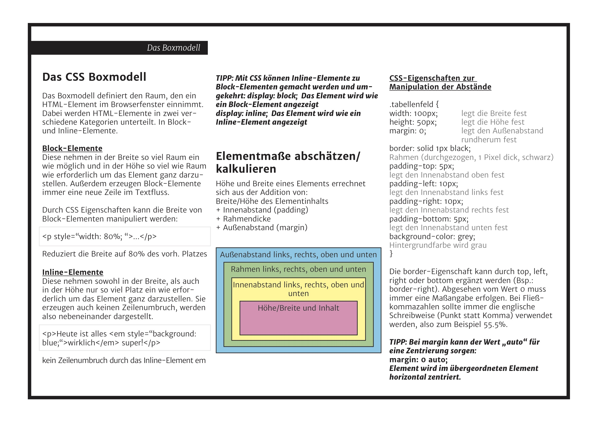 Fantastisch Css Rahmen Fotos - Rahmen Ideen - markjohnsonshow.info