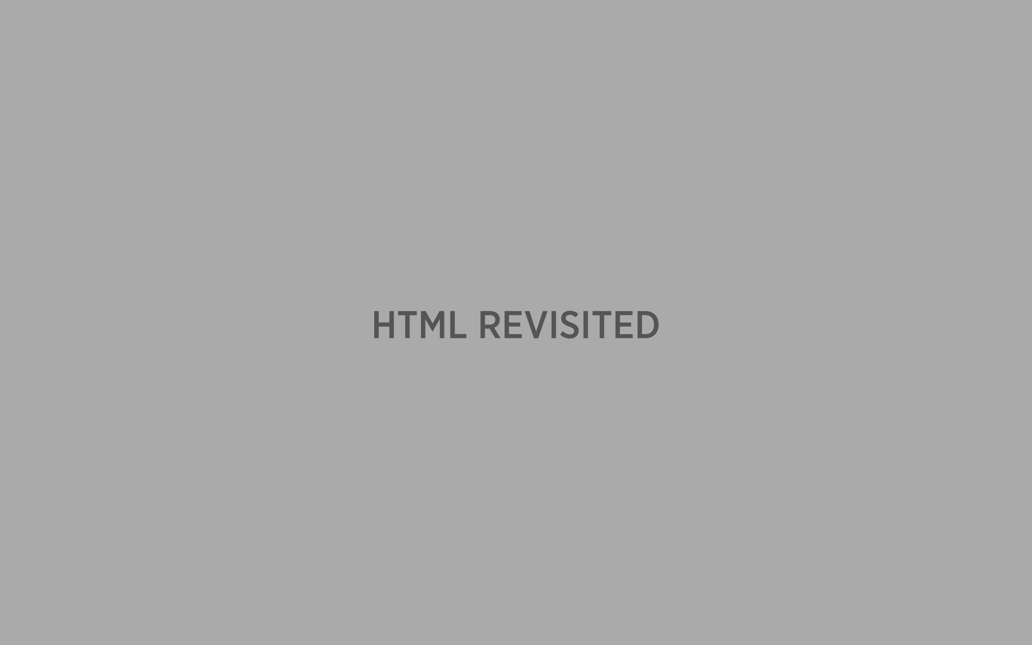 01 HTML - Wiederholung 1