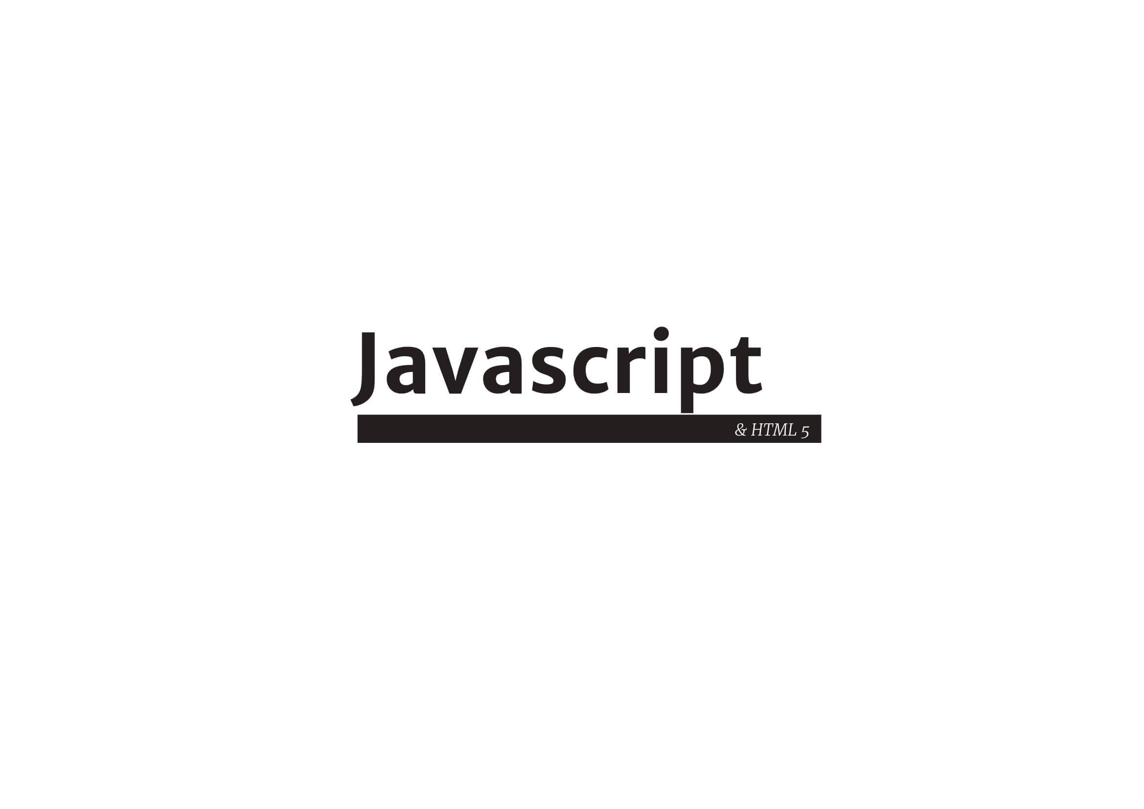 JavaScript + HTML 1