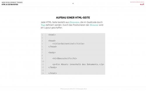 01 HTML - Wiederholung 2