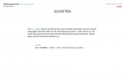 03 CSS Ecken+Schatten 4