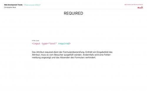 03 HTML - Formulare 17