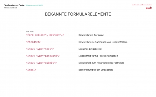 03 HTML - Formulare 2