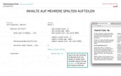 05 CSS Mehrspaltige Layouts 11