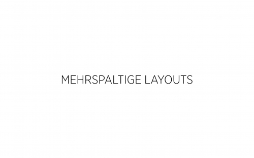 05 CSS Mehrspaltige Layouts 5
