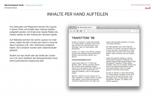 05 CSS Mehrspaltige Layouts 6