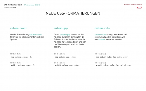 05 CSS Mehrspaltige Layouts 7