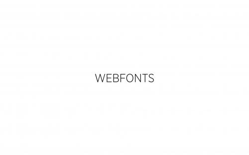07 CSS Webfonts 1